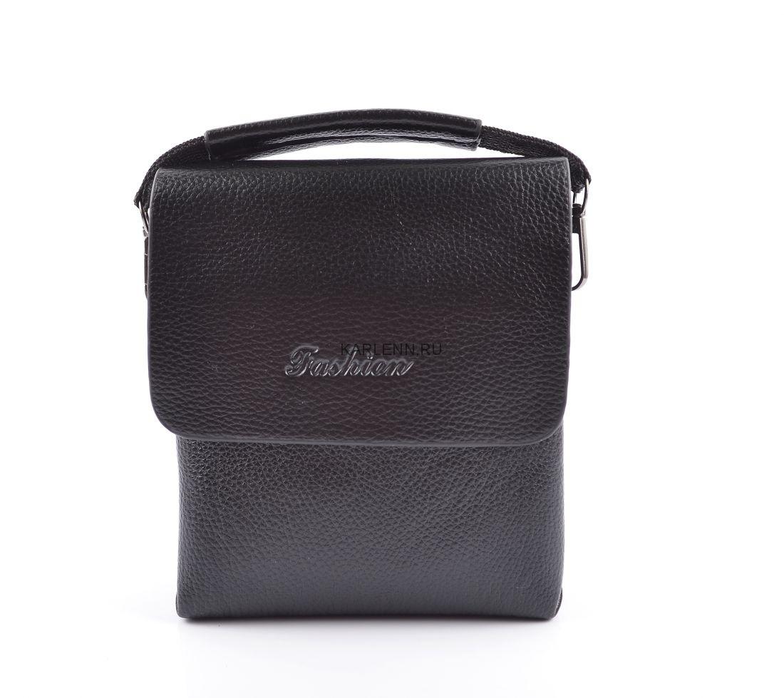 Мужская сумка Fashion (1346-0 черная)