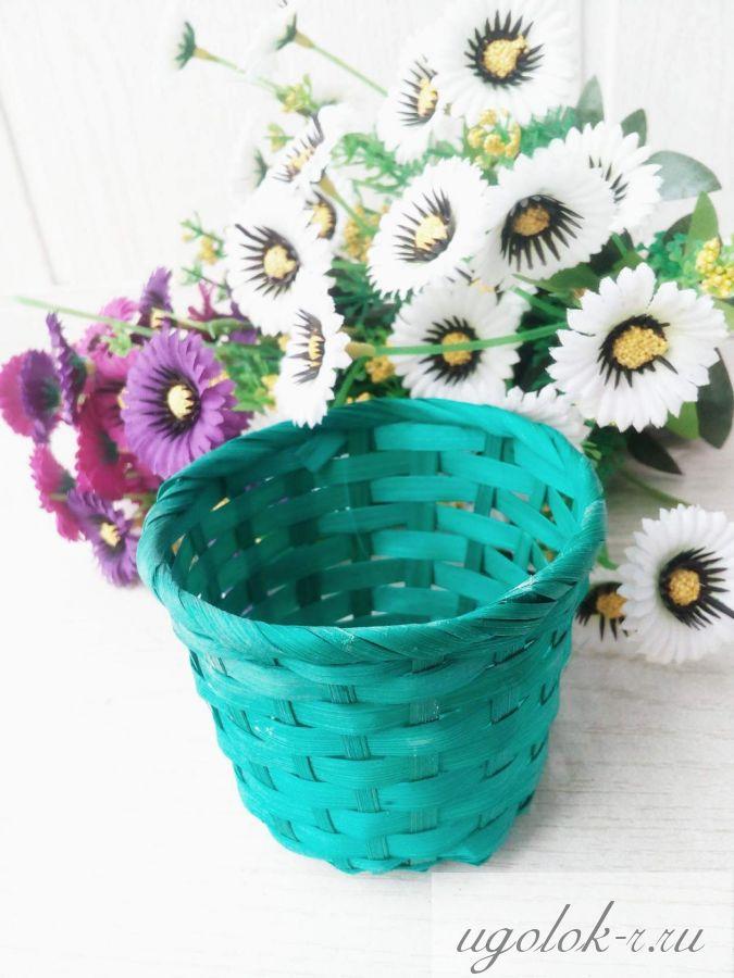 Плетеные корзинки 6 х 7,5 см