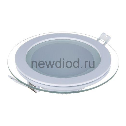 Светильник встраиваемый OREOL Glass Rlp 9W-720Lm 95/120mm 3000K