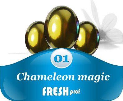 Мелкодисперсный пигмент Сhameleon magic 1 золото