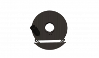Кожух пылеотводящий (подходит к УШМ  Metabo 230mm) AVA 230Mb-1PRO