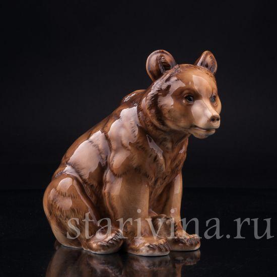 Изображение Медведь, Hutschenreuther, Германия, пер. пол. 20 в