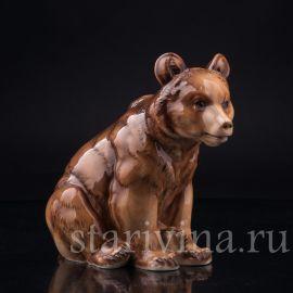Медведь, Hutschenreuther, Германия, пер. пол. 20 в.