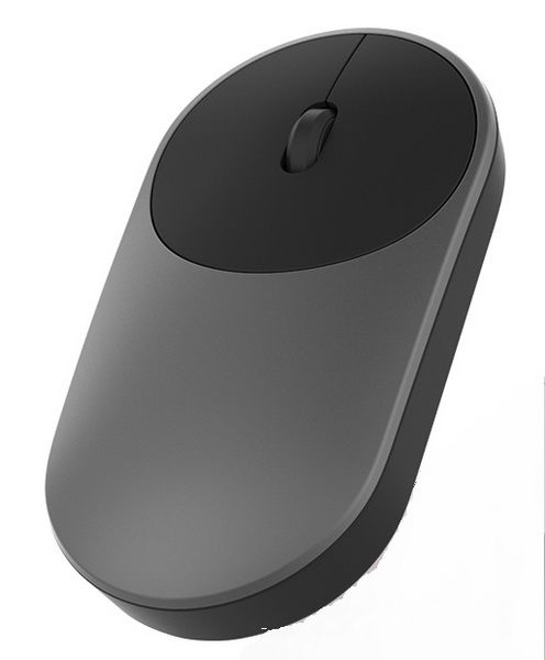 Мышь Xiaomi Mi Portable Mouse Black Bluetooth (XMSB02MW) (Черная)
