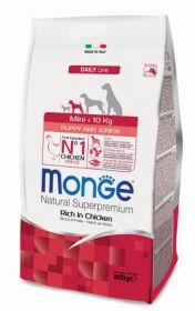 Monge Dog Mini корм для щенков мелких пород 3 кг