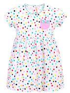 Платье в горошек,  для девочек 3-7 лет BN972