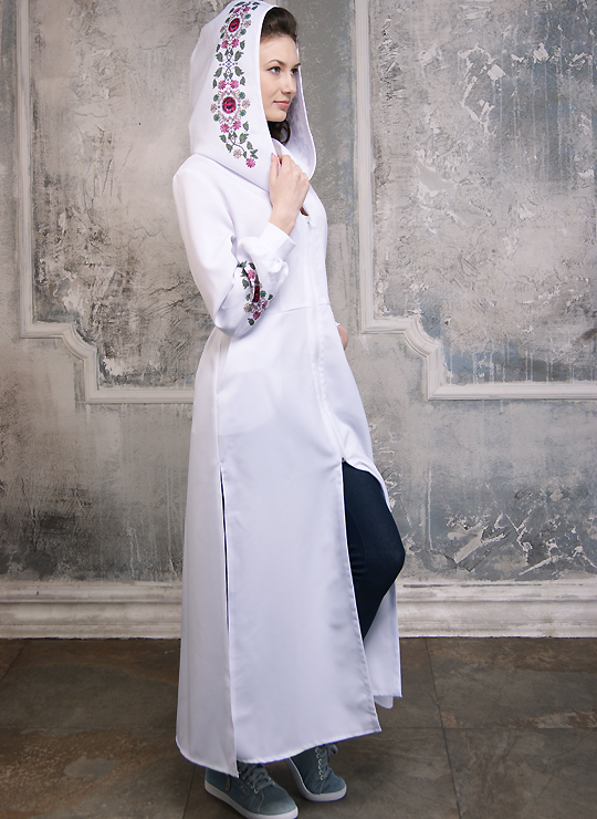Роскошное платье-балахон