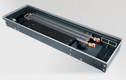 Конвектор внутрипольный c естественной конвекцией KVZV 250-85-1000