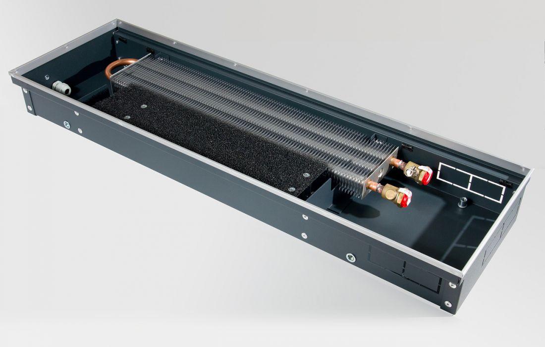 Конвектор внутрипольный c естественной конвекцией KVZV 250-85-2000