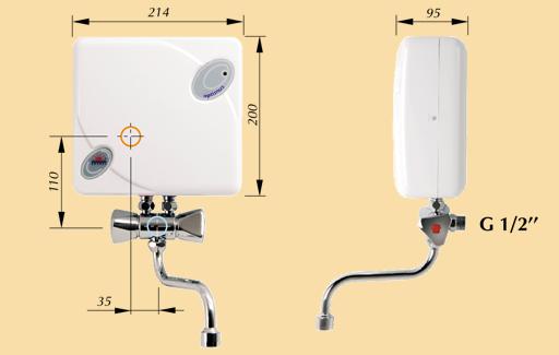Электрический проточный водонагреватель KOSPEL EPJ-5,5 OPTIMUS