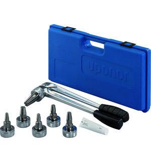 Ручной инструмент Uponor Q&E в комплекте с головками 16-25 S5+S3,2,