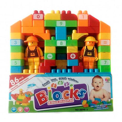Конструктор BLOCKS, 86 элементов