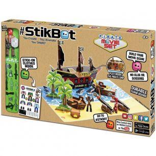 Анимационная Стикбот StikBot студия пиратский корабль