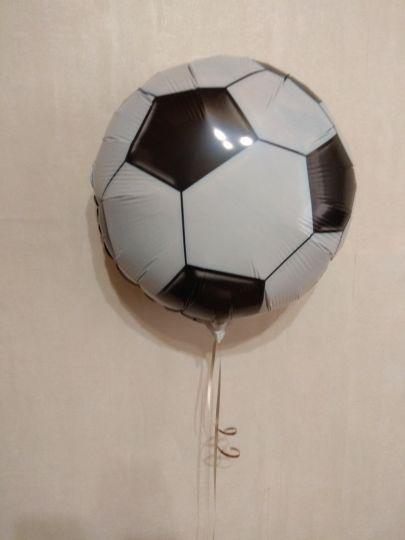Футбольный мяч шар фольгированный с гелием