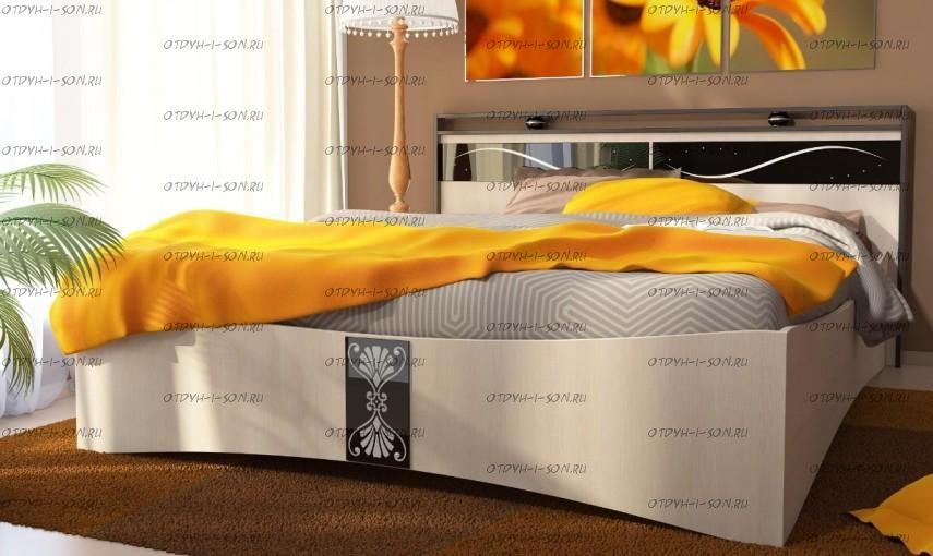 Кровать двуспальная Вега КР-02 (160*200)