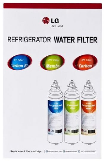 Фильтры для холодильника LG, комплект ADQ73753313