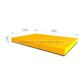 Мат складной в 3 раза 150x100x10 см