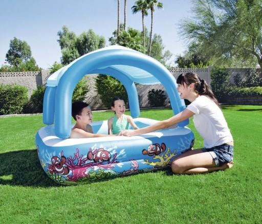 Бассейн для детей с козырьком BESTWAY 52192