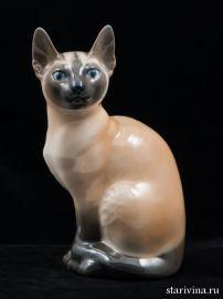 Сиамская кошка. Royal Copenhagen, Дания. 1960-е
