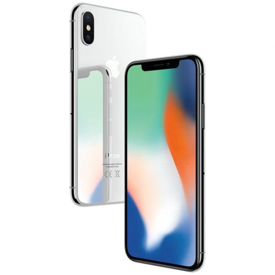 Смартфон Apple iPhone X 256GB Silver A1901 (Серебристый)