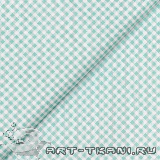 Китайский хлопок 0,5 м - Мятная клетка