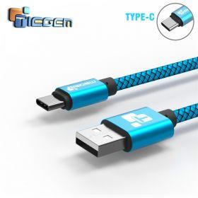 Tiegem USB кабель для зарядки для USB- TYPE-C 200см с/п до 480 Мbs