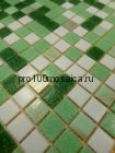 Grass стекло. Мозаика серия ECONOM,  размер, мм: 327*327*4 (BONAPARTE)
