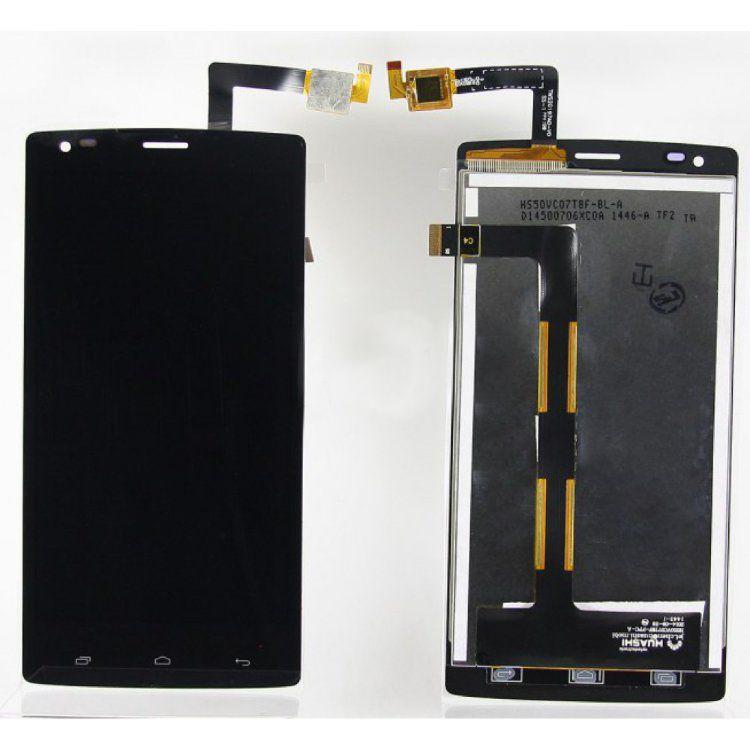 LCD (Дисплей) Fly IQ4505 ERA Life 7 Quad (в сборе с тачскрином) (black) Оригинал