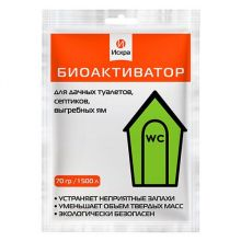 Биоактиватор для дачного туалета «Искра», 70 гр.