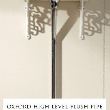 Devon&Devon Oxford патрубок для высокого бачка (зажим-держатель и коллекторы) ФОТО
