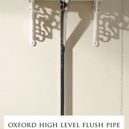 Devon&Devon Oxford патрубок для высокого бачка (зажим-держатель и коллекторы)