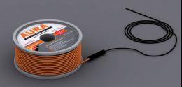 Теплый пол на основе двухжильного нагревательного кабеля AURA Heating  КТА  111м -2000Вт