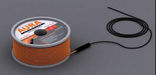 Теплый пол на основе двухжильного нагревательного кабеля AURA Heating  КТА  37м -650Вт