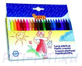 Jovi. Карандаши цветные пластиковые, 24 цвета