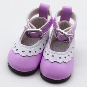 Туфельки для куклы, 4,5 см Сиреневые
