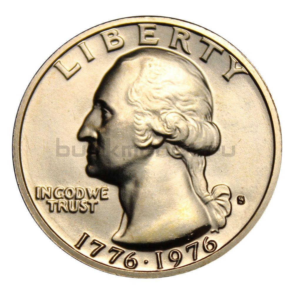 25 центов 1976 США 200 лет независимости S