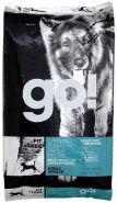 """GO! Fit + Free Беззерновой корм для собак всех возрастов """"Четыре вида мяса"""" (индейка, курица, лосось, утка) (11,35 кг)"""