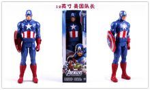Фигурка подвижная Капитан Америка Марвел Бутлег / Capitan America Marvel Figure