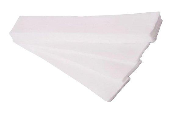 Салфетка одноразовая 10*40 спанлейс белый White line №100шт пачка