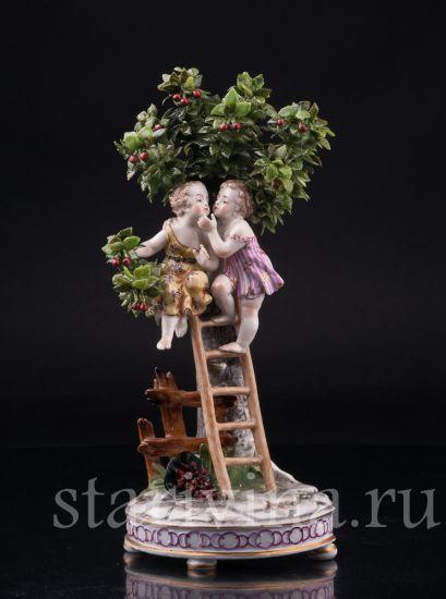 Изображение За вишнями, Dressel, Kister & Cie, Германия, 1907-1920 гг