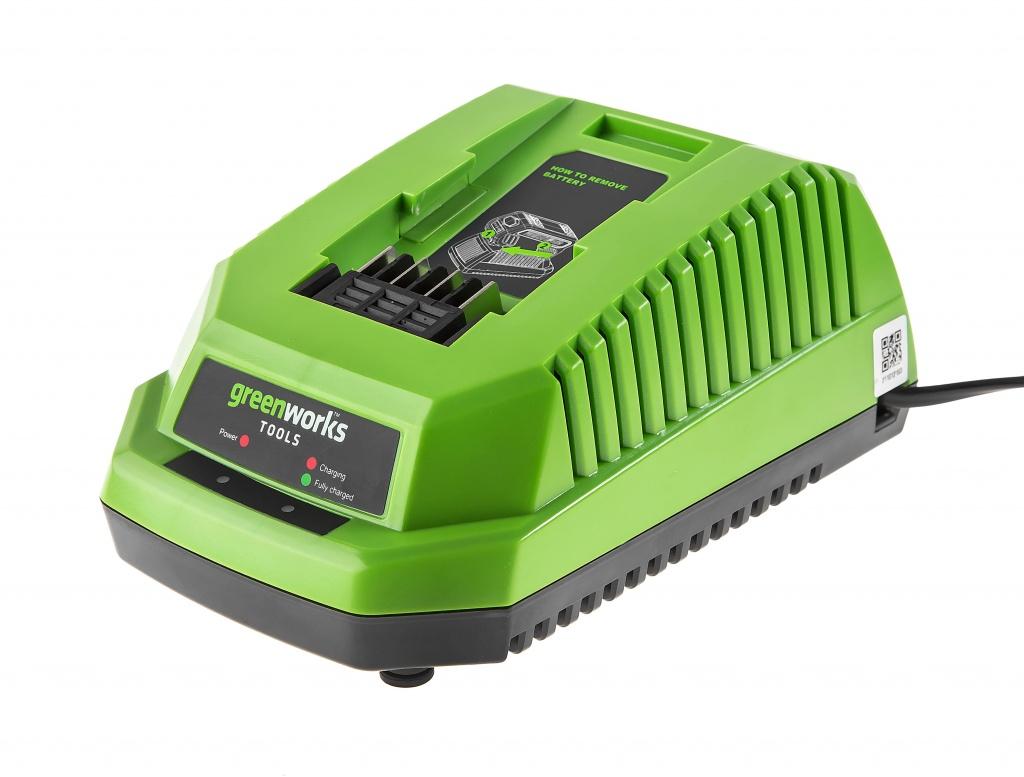 Зарядное устройство GREENWORKS G40C (29417/2904607)