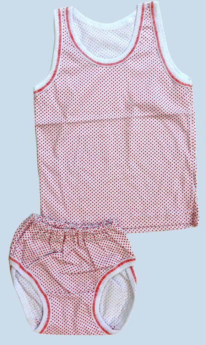Комплект нижнего белья для девочки Красный горох