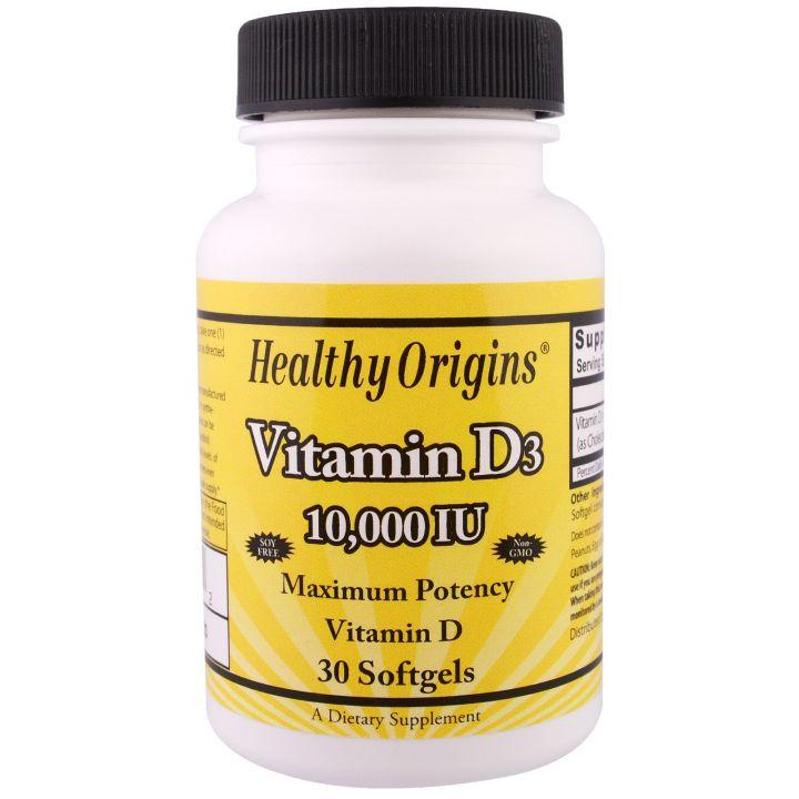 Healthy Origins - Vitamin D3 10000 IU