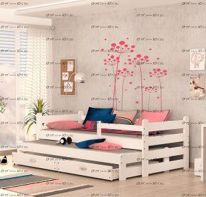 Кровать двухъярусная Дуэт массив №Д