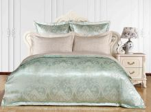 Комплект постельного белья Сатин-жаккард  Санта-Лоренца евро Арт.1090/3