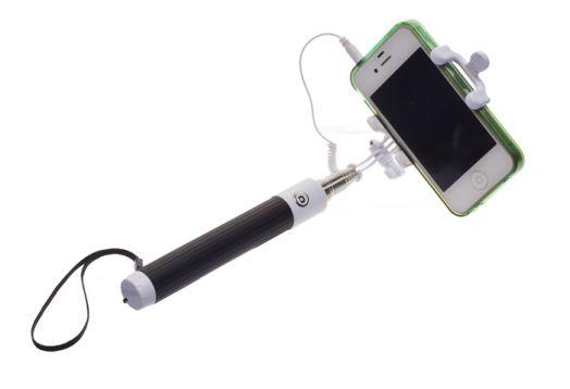"""Монопод (телескопическая палка) для """"селфи'"""" с проводом, OLMIO"""