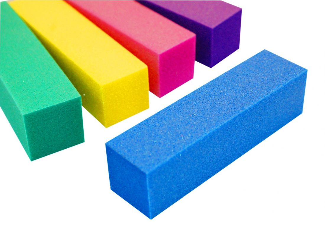 Блок шлифовочный (баф)  Цвет в ассортименте