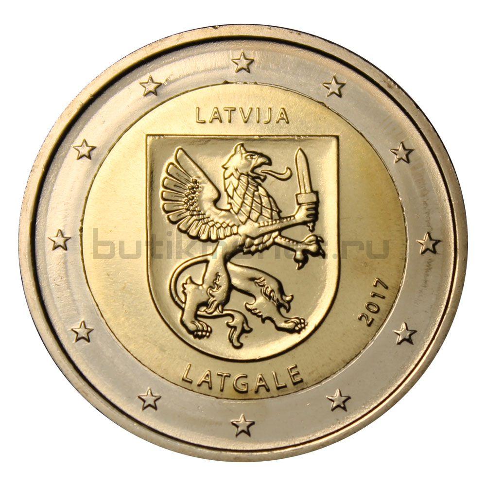 2 евро 2017 Латвия Исторические области Латвии - Латгалия