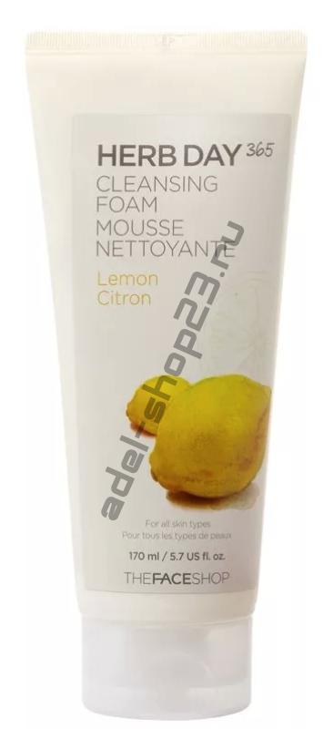 The Face Shop - Очищающая пенка для умывания с экстрактом лимона