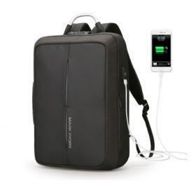 """Рюкзак Mark Ryden Business Fashion (с внешним USB и системой """"антивор"""") черный"""